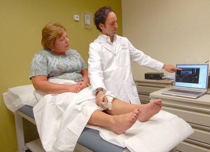 диагностика атеросклероза, УЗИ сосудов нижних конечностей