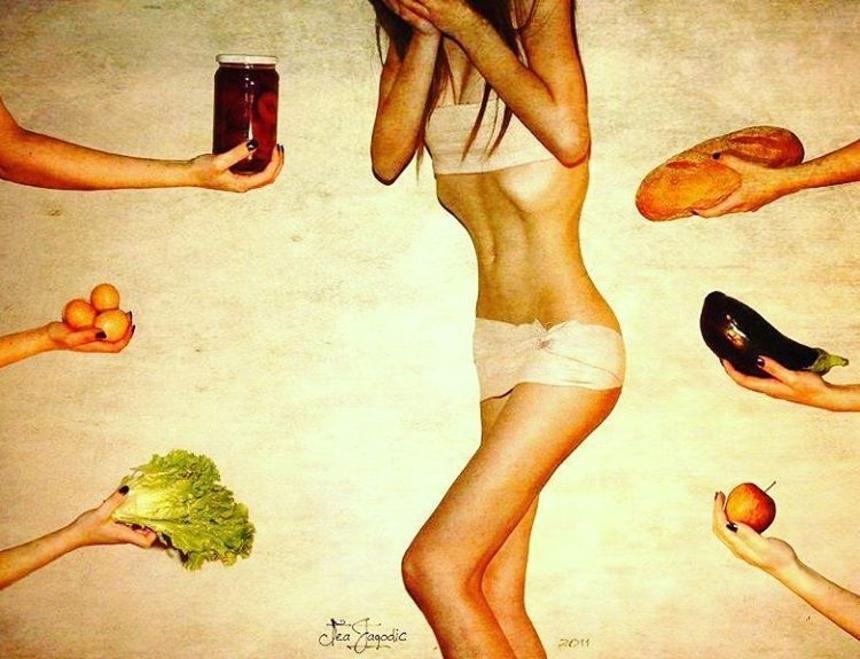 Симптомы анорексии: поведенческие симптомы