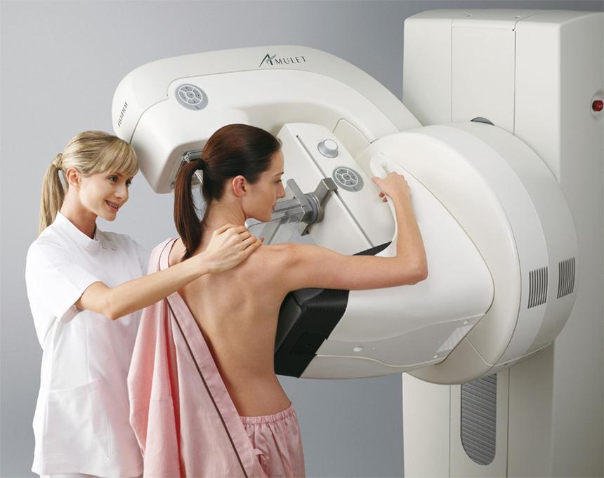 Диагностика рака груди: маммография