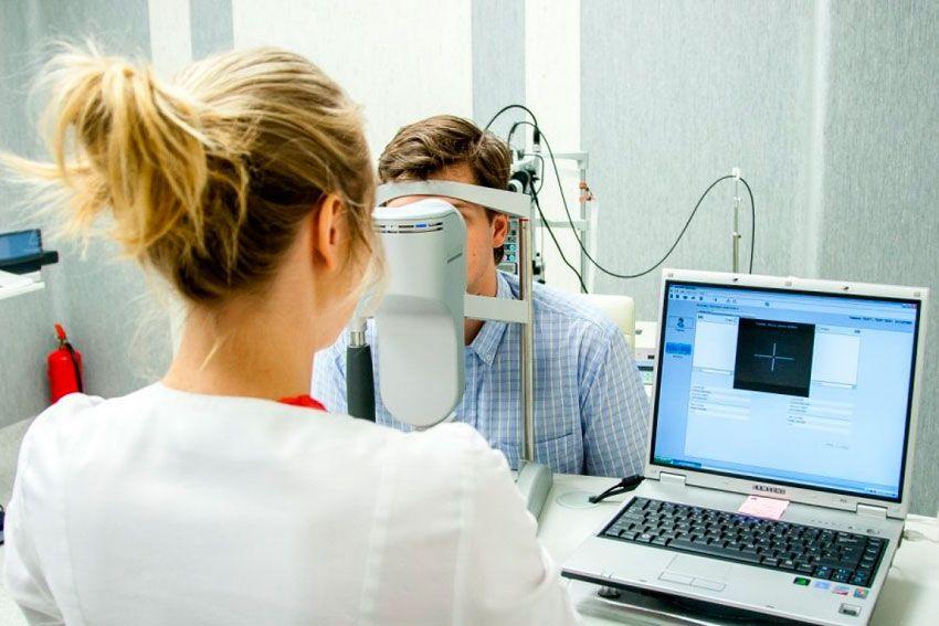 диагностика перед лазерной коррекцией