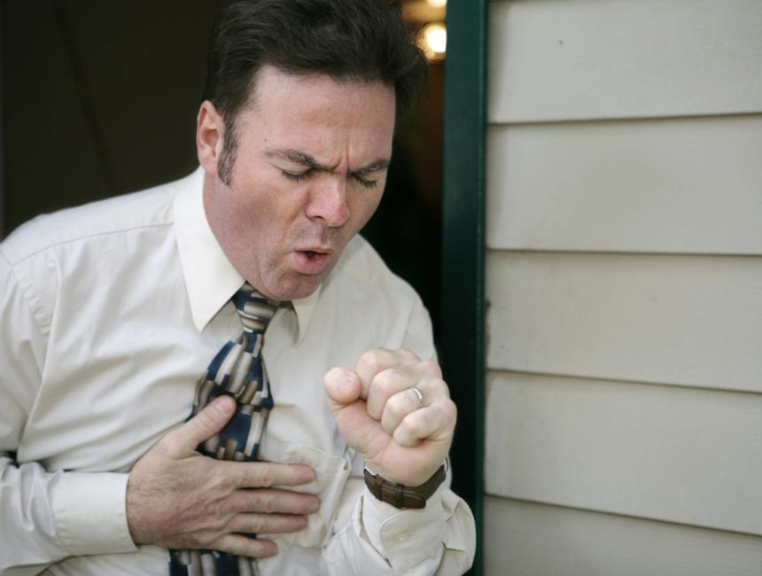 Классификация и симптомы рака легких: сухой кашель