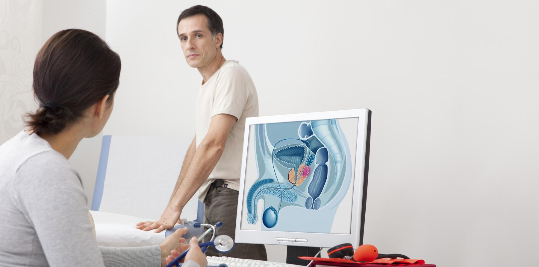 диагностика простатита, консультация уролога